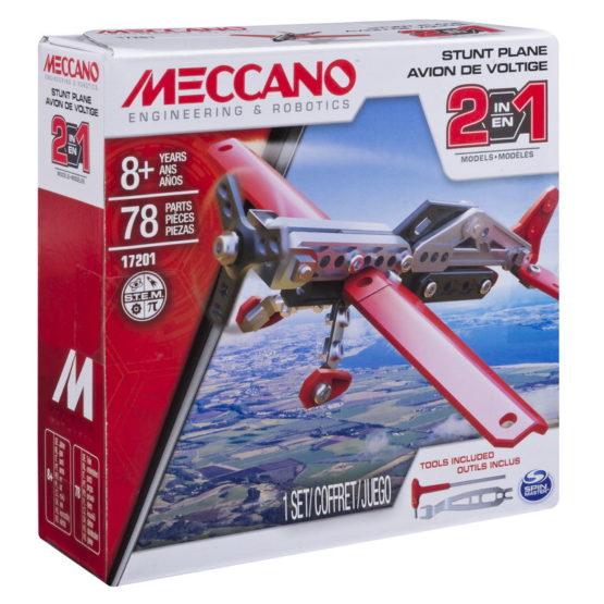 Meccano Kit Avion 2 In 1