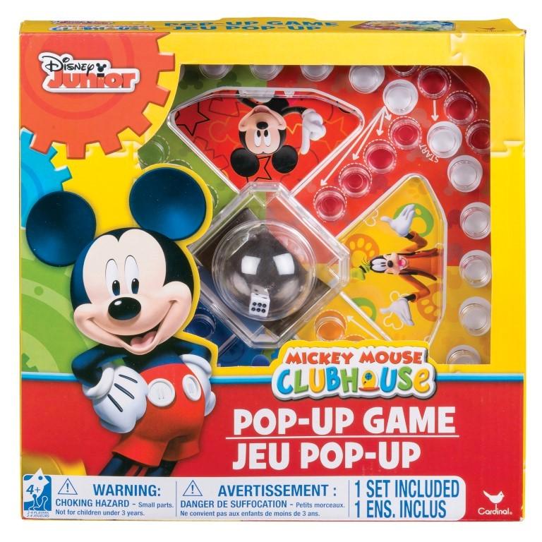 Mickey Mouse Joc Pop Up Cu Zaruri