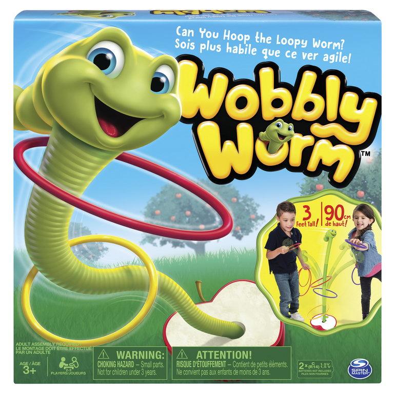 Viermele Wobbly Joc Cu Inele