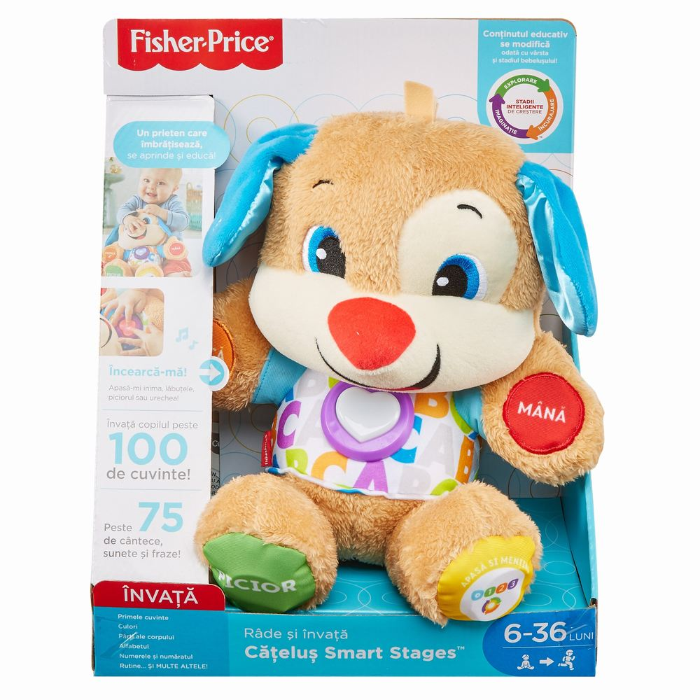 Catelusul Vorbitor Si Educativ Limba Romana Fisher Price