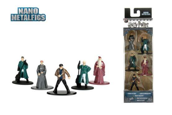 Harry Potter Set 5 Figurine Metalice Scara 1 La 65