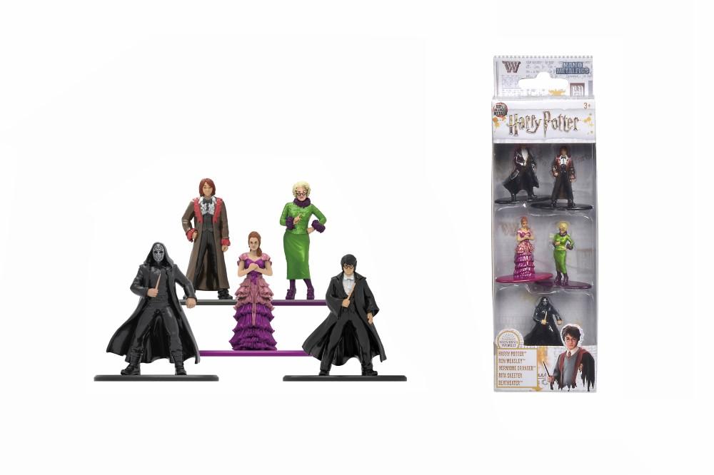 Harry Potter 5 Figurine Metalice In Set Scara 1 La 65