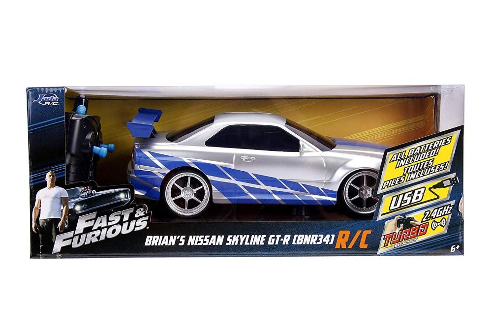 Fast And Furious Rc Nissan Skyline Gtr Scara 1 La 16