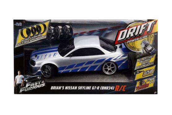 Fast And Furious Rc Drift Nissan Skyline Gtr 40cm