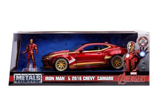 Macheta Metalica Ironman Chevy Camaro 2016 Scara 1 La 24