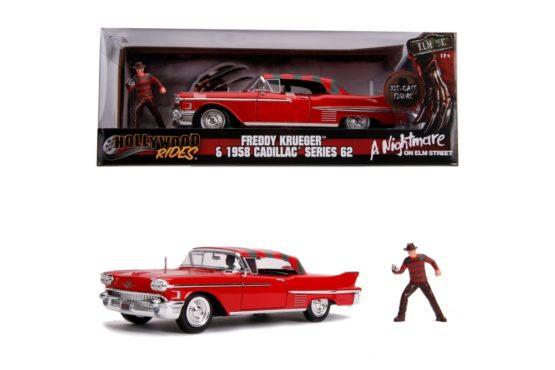 Macheta Metalica Freddy Krueger 1958 Cadillac Model 62 Scara 1 La 24