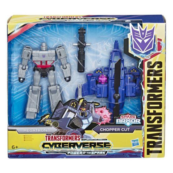 Set Megatron Si Chopper Cut Spark Armor