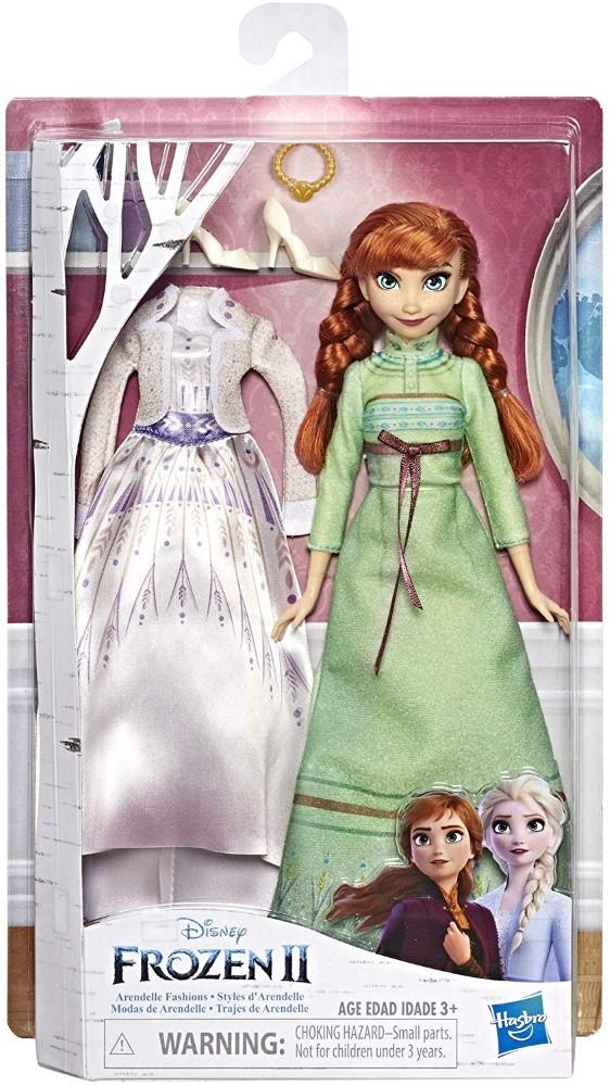 Papusa Frozen2 Anna Cu Rochita De Schimb
