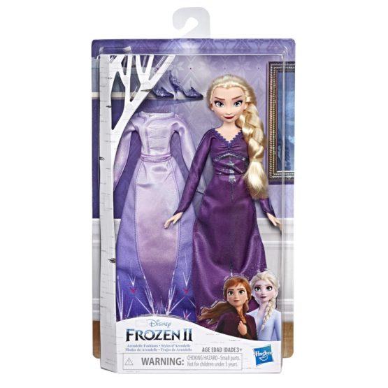 Papusa Frozen2 Arendelle Elsa Cu Rochita De Schimb