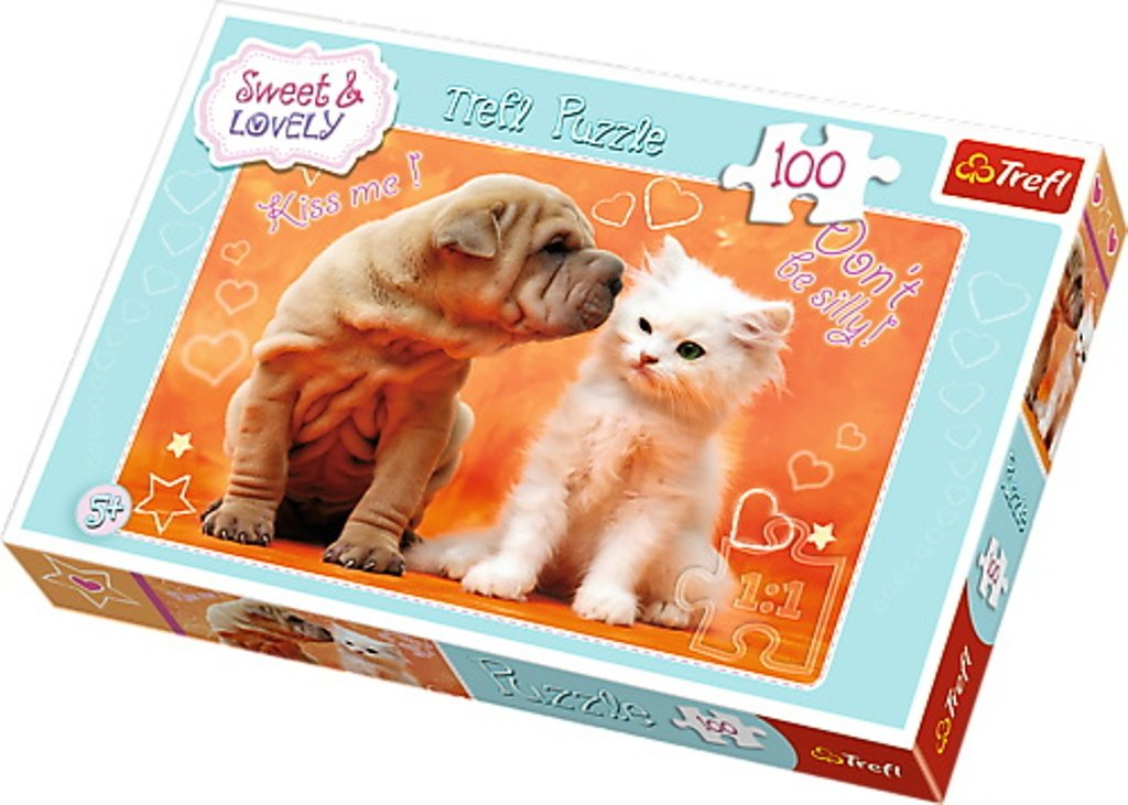 Puzzle Trefl 100 Hugs Kisses