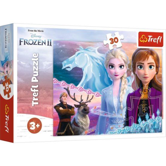Puzzle Trefl 30 Frozen2 Curajoasele Surori