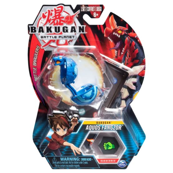 Bakugan Bila Aquos Fangzor Cobra Blue
