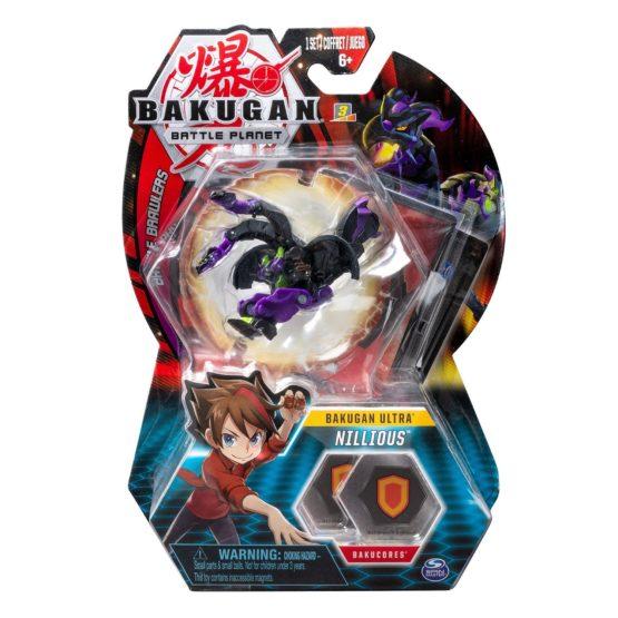 Bakugan Bila Ultra Nillious Double Head Dragon