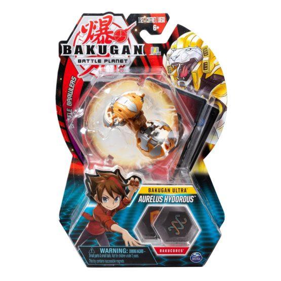 Bakugan Bila Ultra Aurelus Hydorous Lion Gold