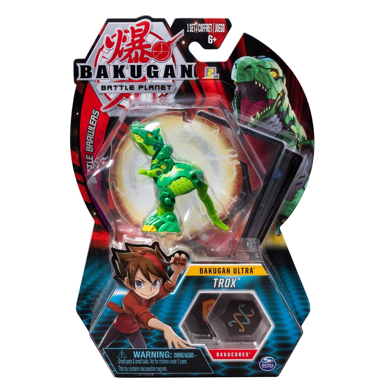 Bakugan Bila Ultra Trox T Rex Green