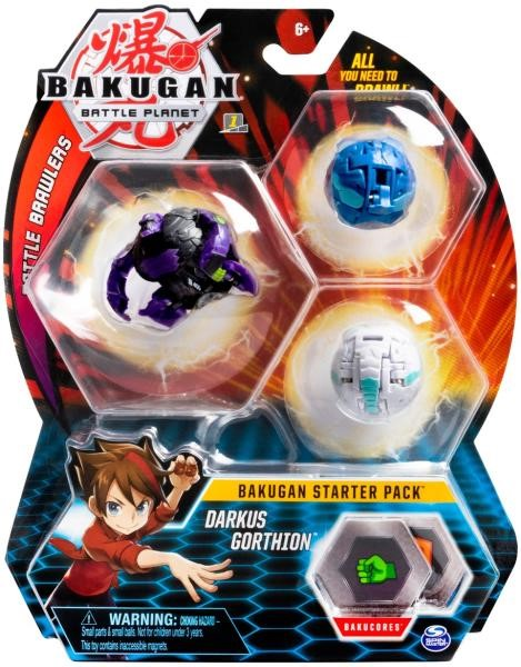 Bakugan Pachet Start Darkus Gorthion