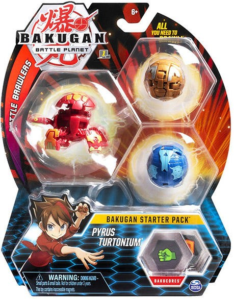 Bakugan Pachet Start Pyrus Turtonium