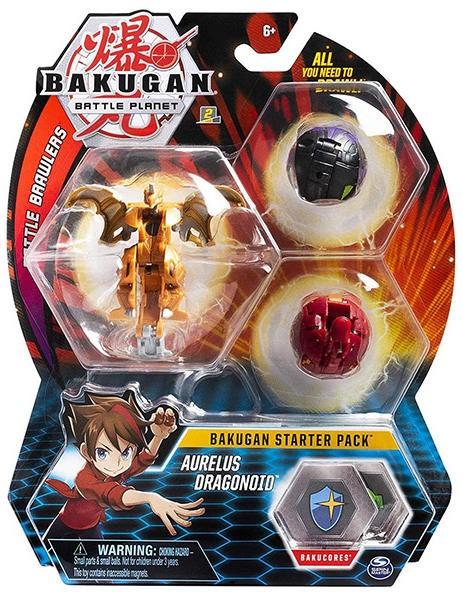 Bakugan Pachet Start Aurelus Dragonoid