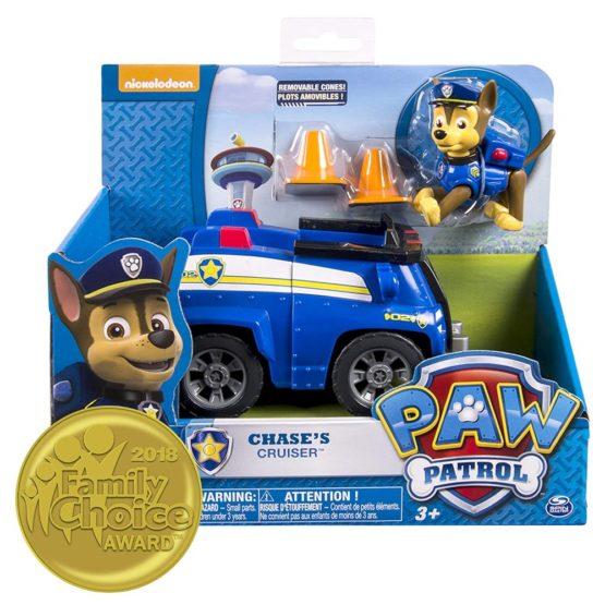 Patrula Catelusilor Chase Cu Masina De Politie