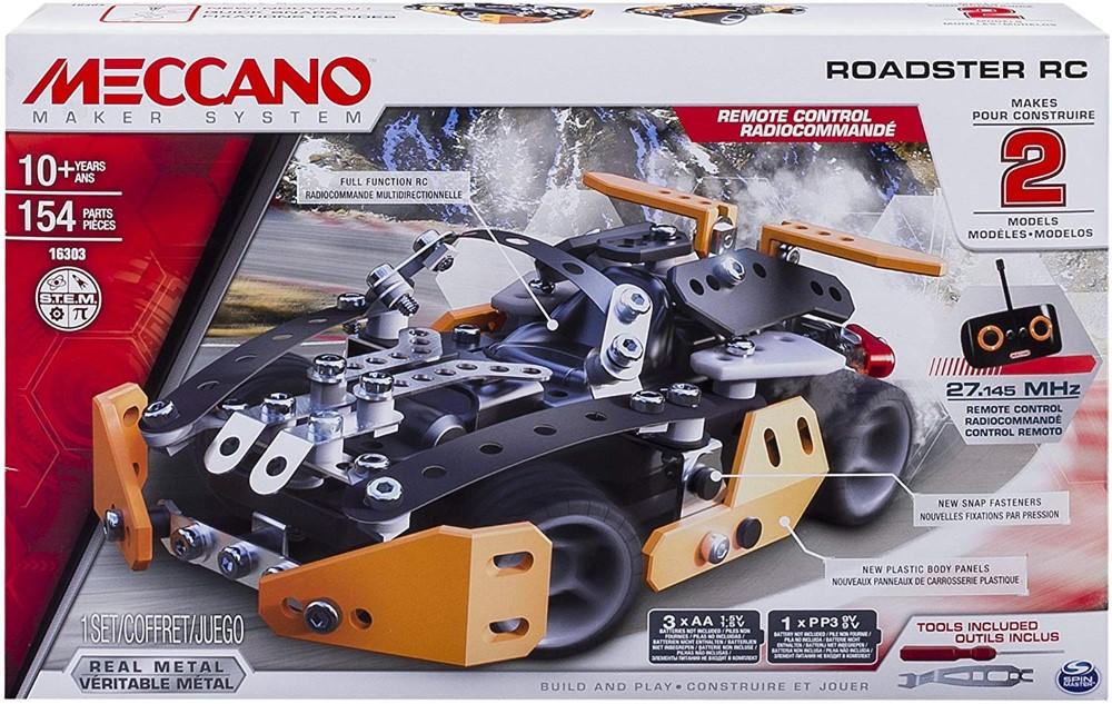 Meccano Roadster Radiocomandat 2in1