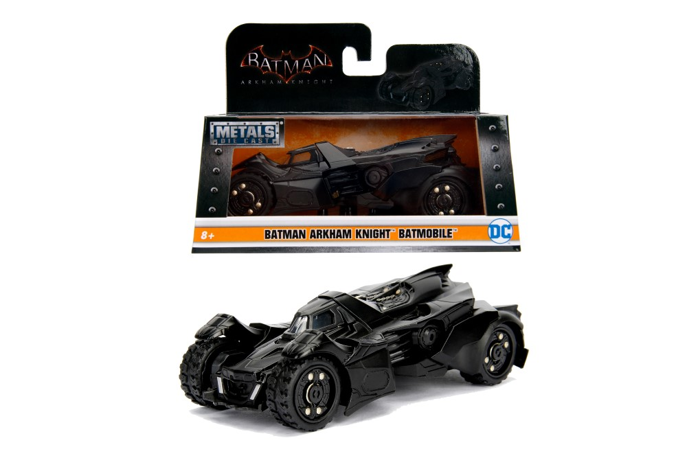 Batman Masinuta Metalica Arkham Batmobil Scara 1 La 32