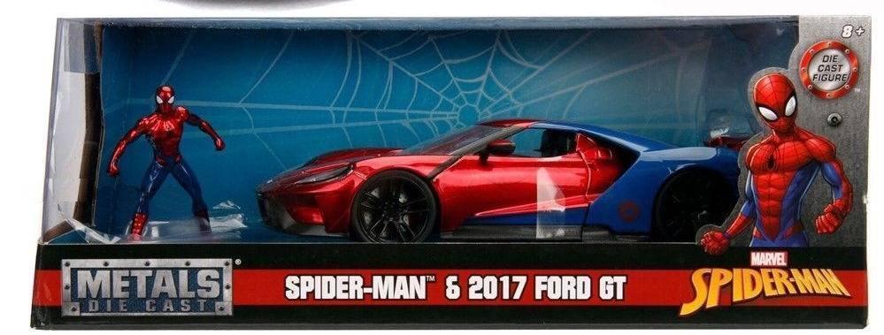 Marvel Spiderman 2017 Ford Gt Scara 1 La 24