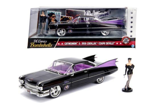 Dc Comics Bombshells 1959 Cadillac Cat Woman Scara 1 La 24