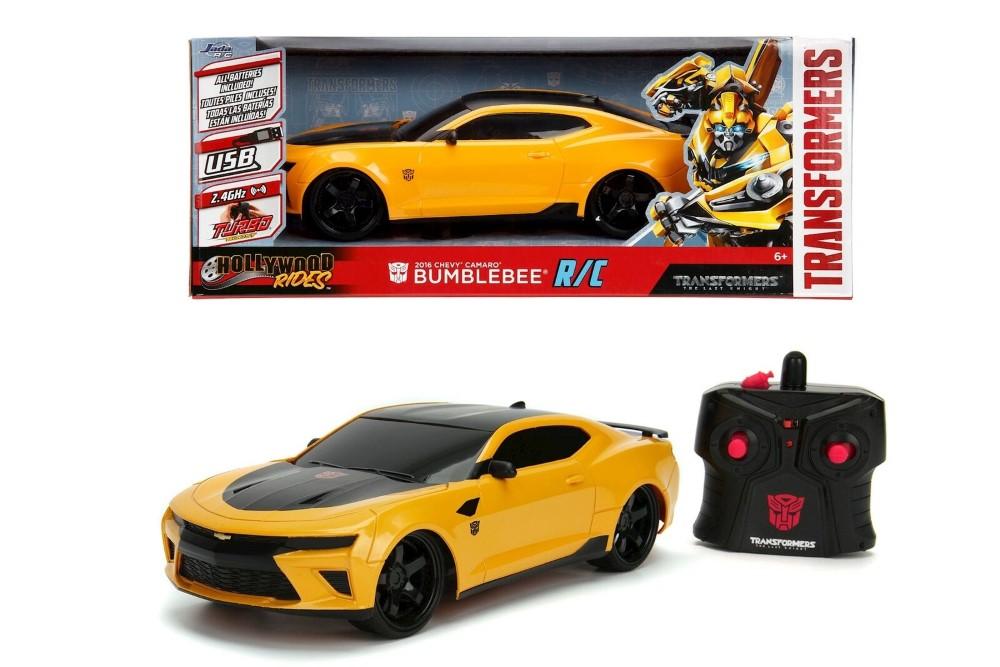Transformers Chevy Camaro Radiocomandat Bumblebee Scara 1 La 16