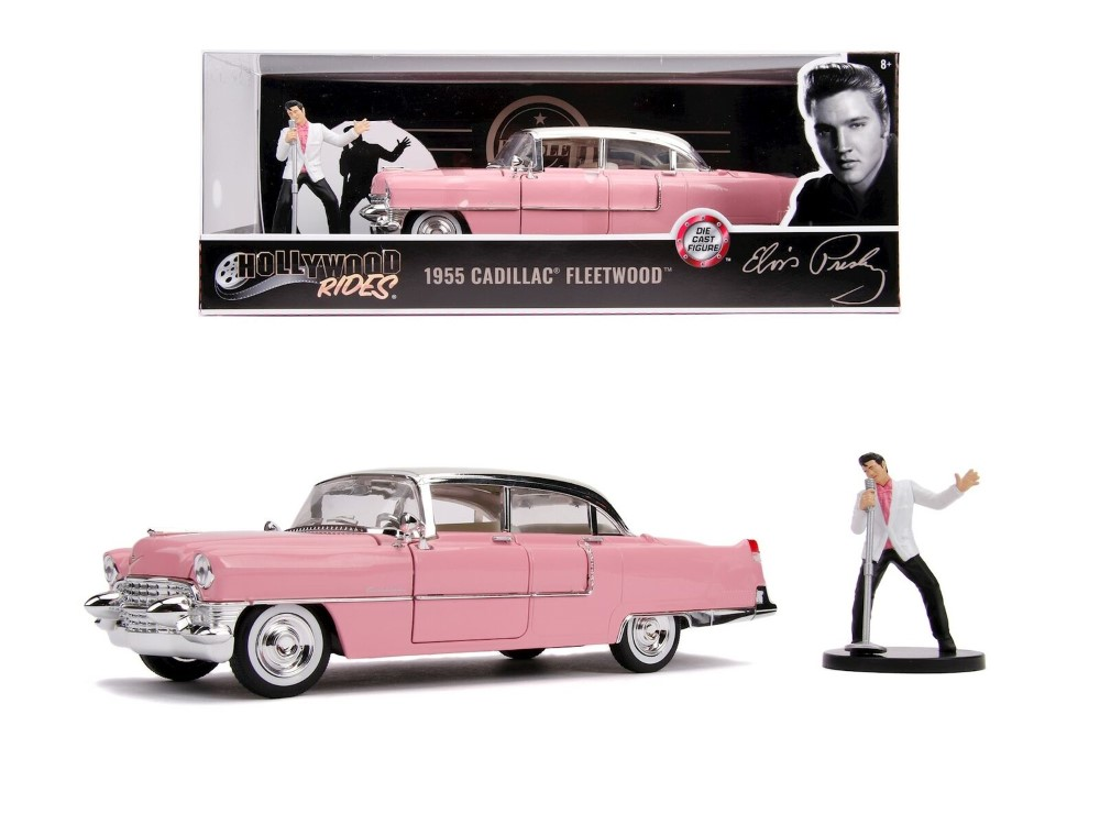 Macheta Cadillac Fleetwood 1955 Elvis Presley