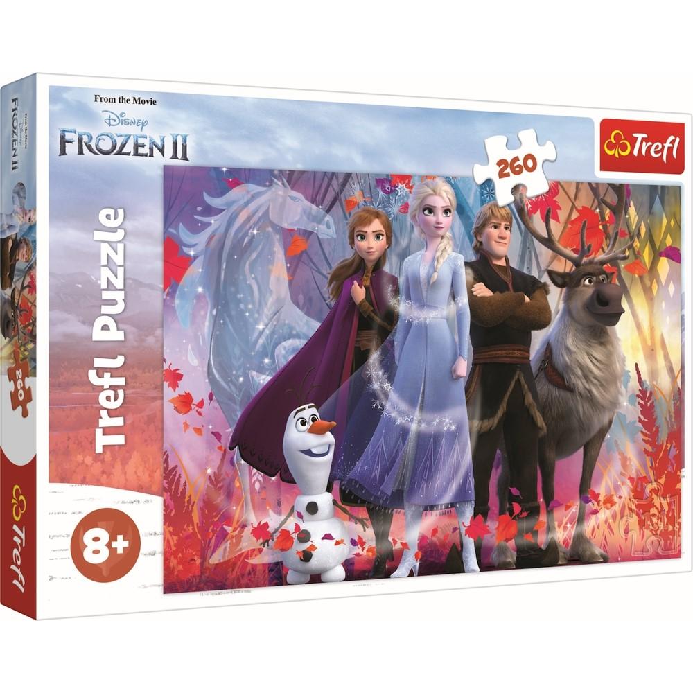 Puzzle Trefl 260 Frozen2 In Cautarea Aventurilor