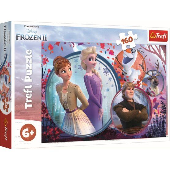 Puzzle Trefl 160 Universul Frozen2