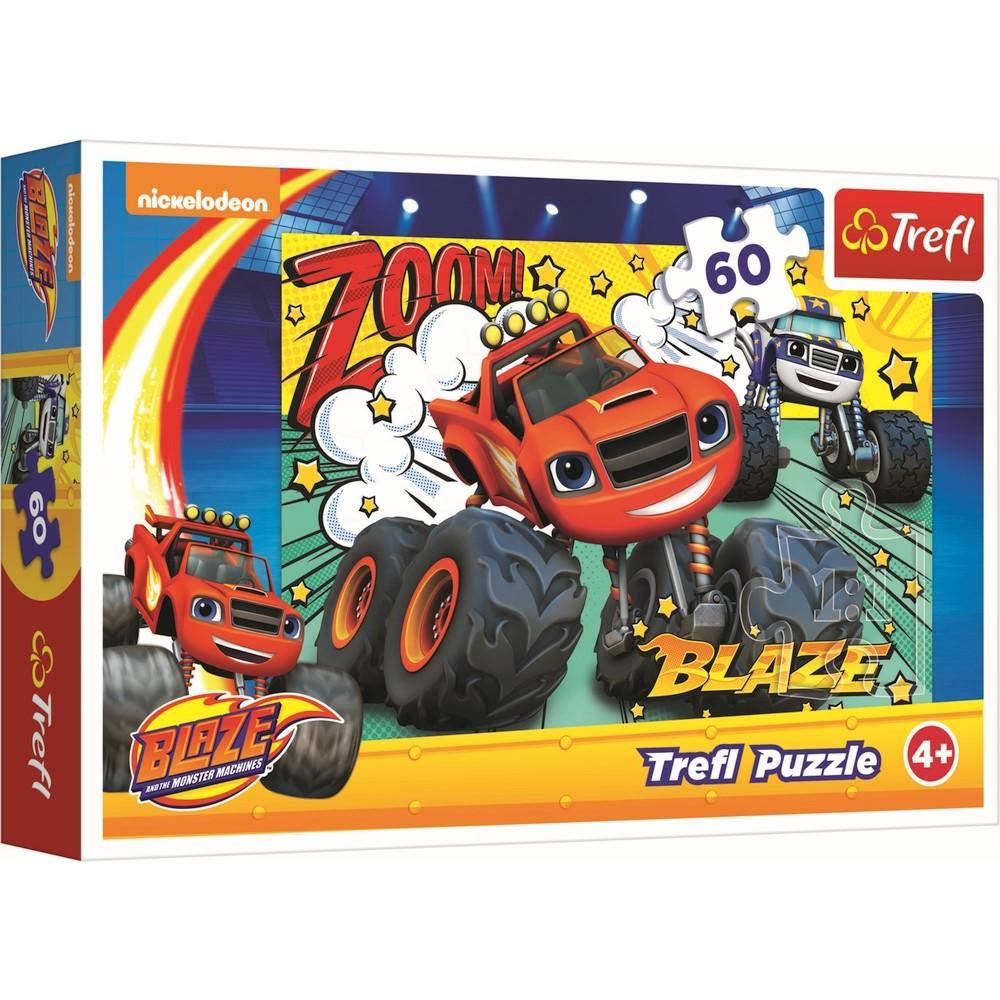 Puzzle Trefl 60 Blaze Cursa Infernala
