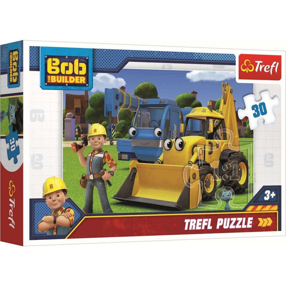Puzzle Trefl 30 Bob Constructorul