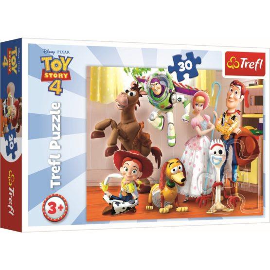 Puzzle Trefl 30 Toystory4 Pregatiti De Joaca