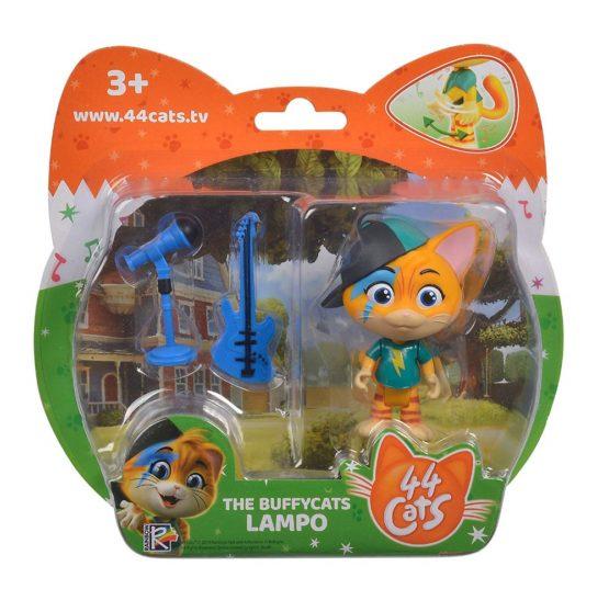 44 De Pisici Figurina Lampo Cu Microfon Si Chitara
