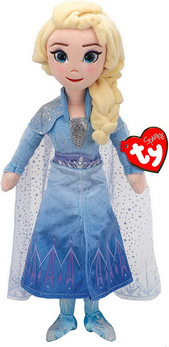 Frozen2 Papusa Din Plus Printesa Elsa 40cm Cu Sunete
