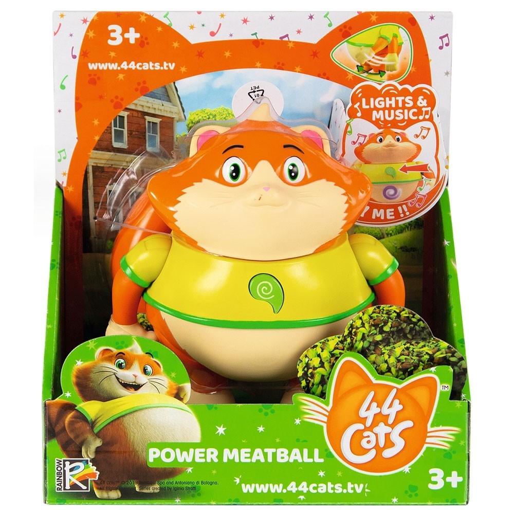 44 De Pisici Figurina Meatball 15cm Cu Lumini Si Melodii