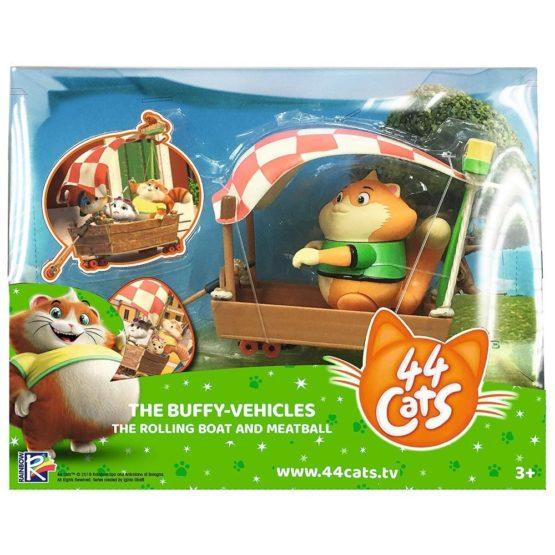 44 De Pisici Set Figurina Meatball Cu Barcuta