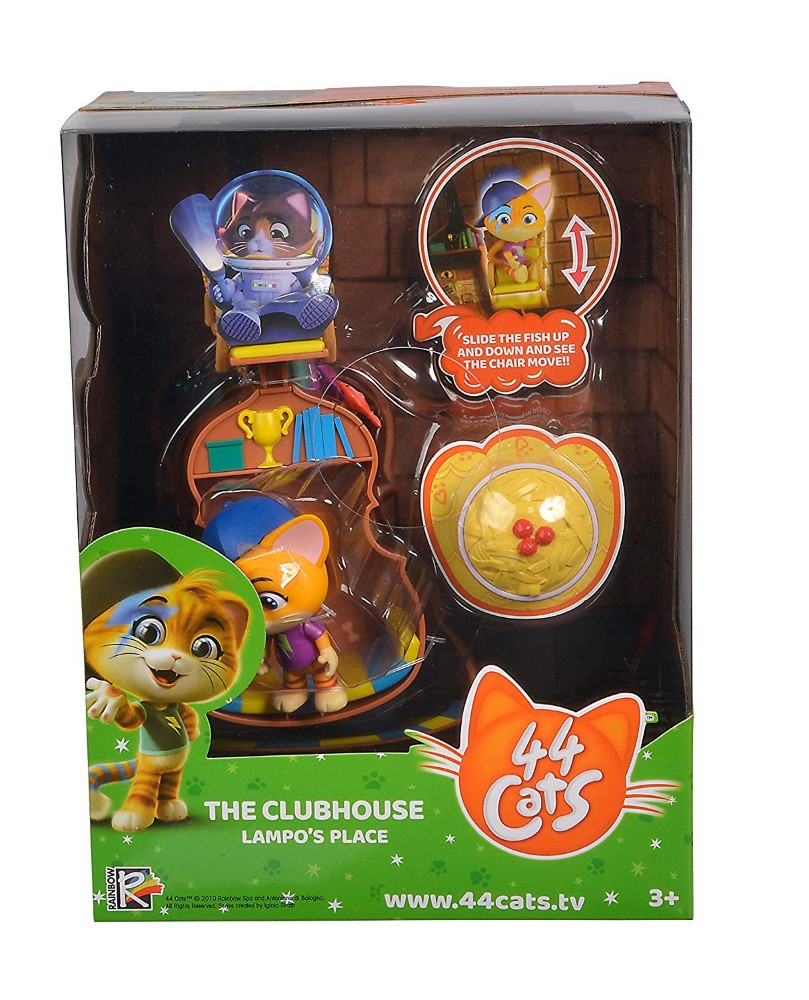 44 De Pisici Set Figurina Lampo Cu Accesorii