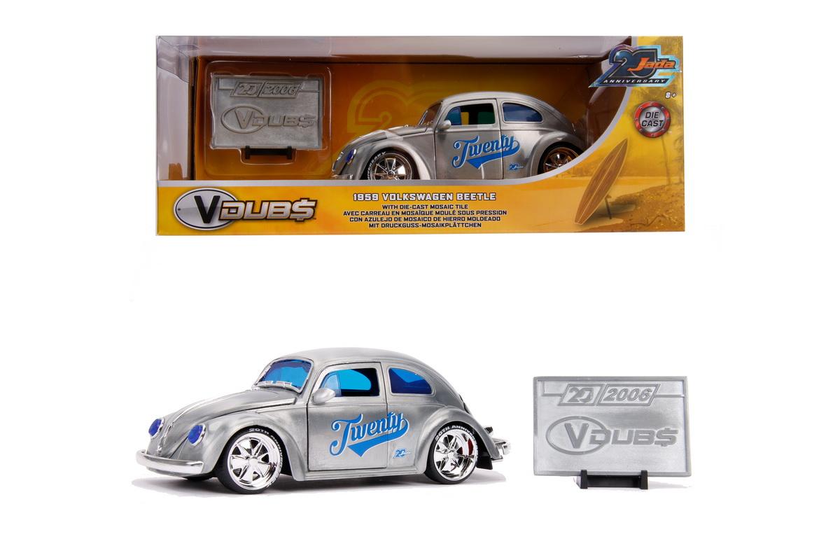 Masina Metalica Vw Beetle 1959 Scara 1 La 24