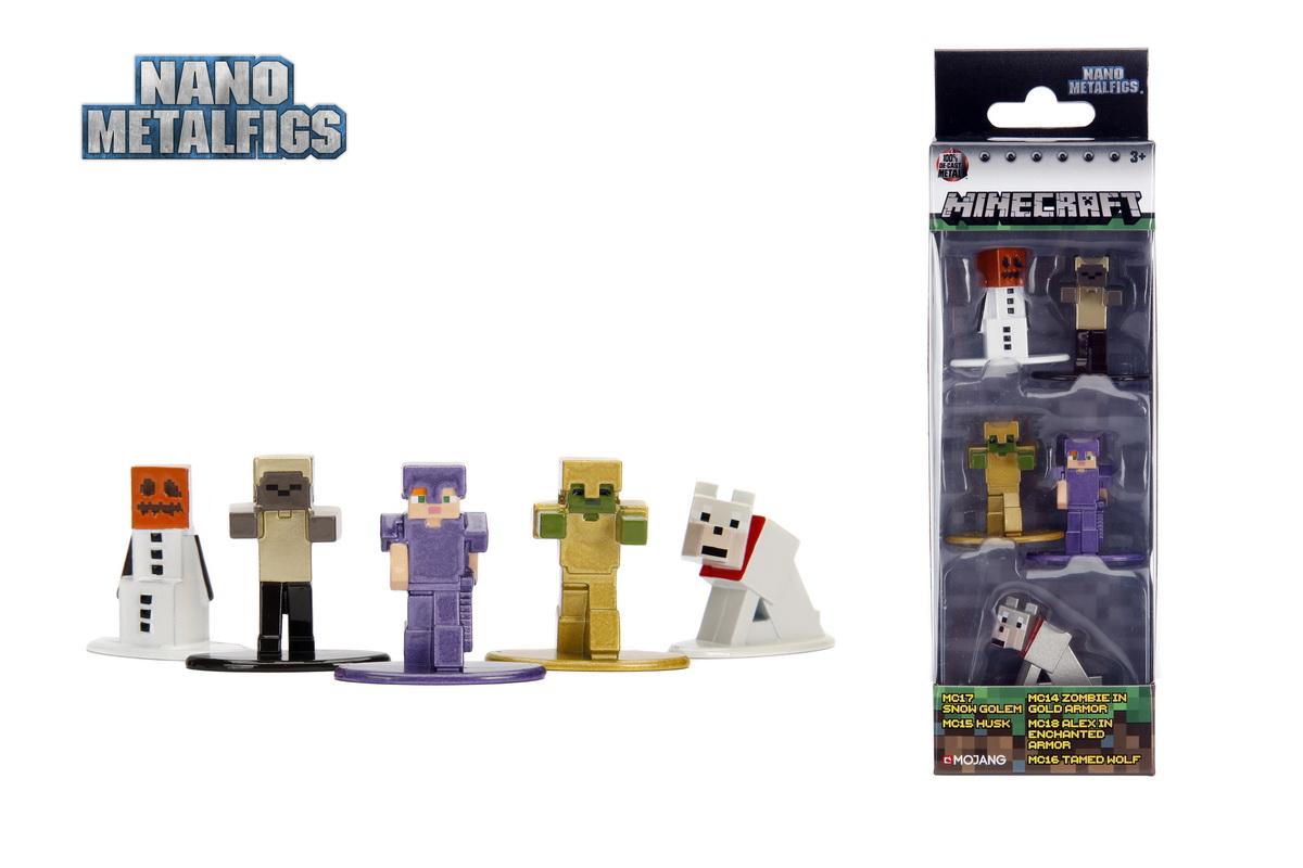 Minecraft Set Figurine Metalice Scara 1 La 65