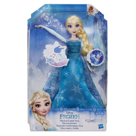 Papusa Printesa Elsa Cu Lumini Si Sunete
