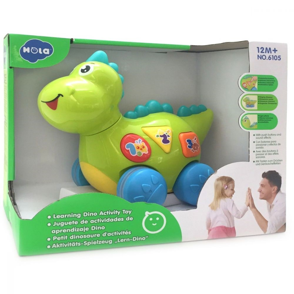 Baby Dinozaurul Interactiv Cu Miscari Melodii Si Lumini