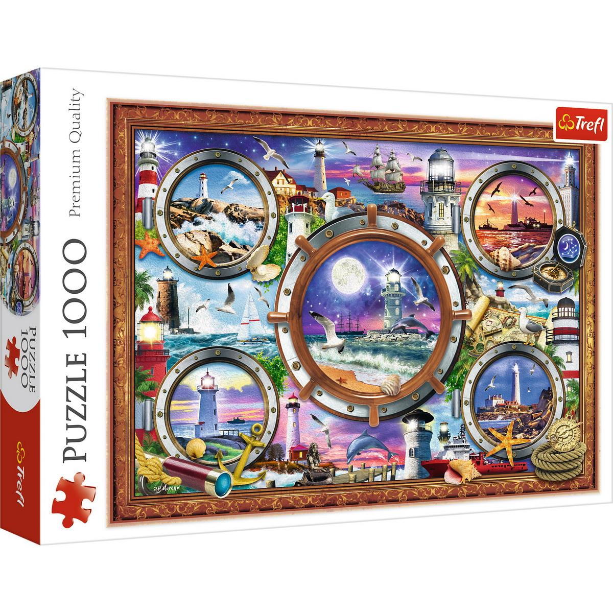 Puzzle Trefl 1000 Faruri Pline De Culoare