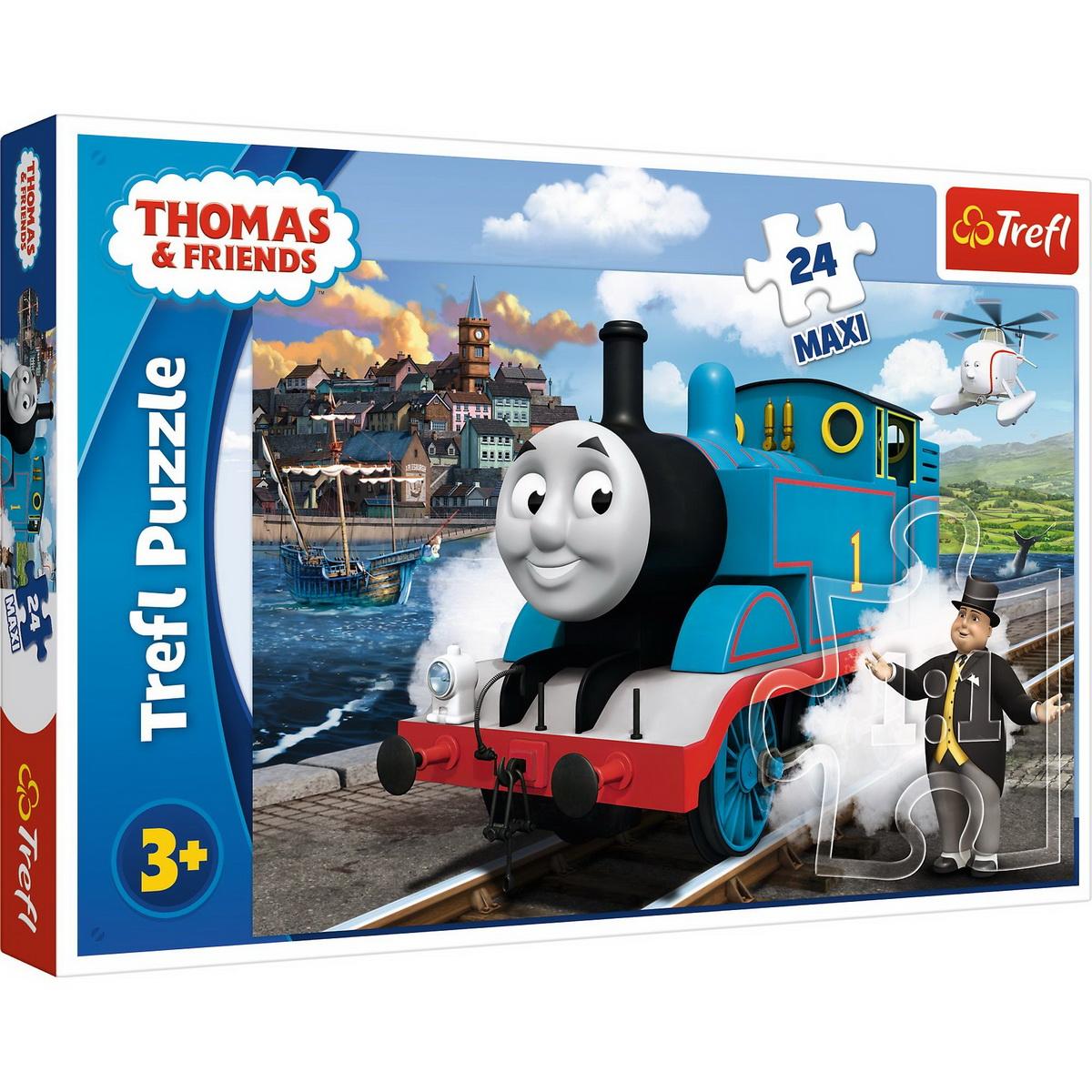 Puzzle Trefl 24 Maxi Happy Thomas Day