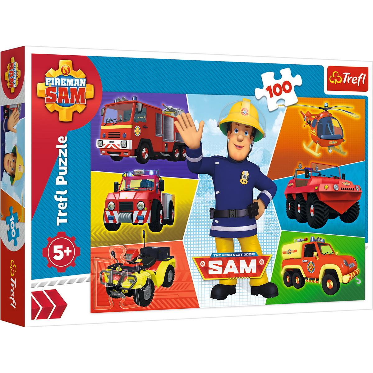Puzzle Trefl 100 Masinile Pompierului Sam