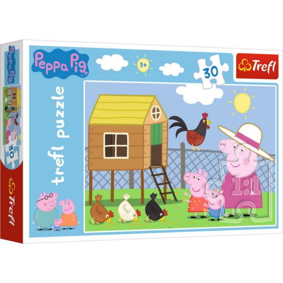 Puzzle Trefl 30 Peppa Pig La Ferma