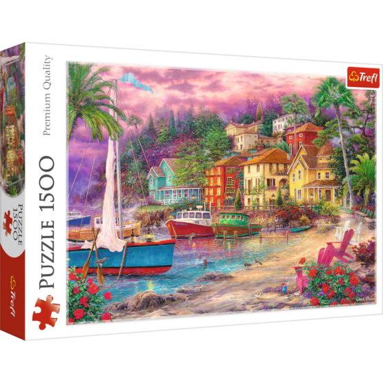 Puzzle Trefl 1500 Apus Pe Coasta