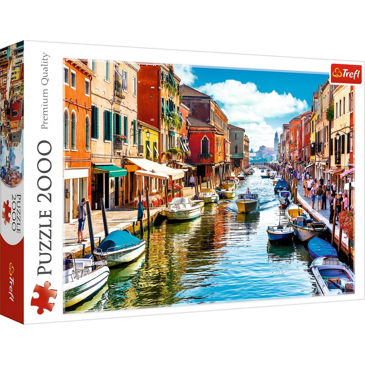 Puzzle Trefl 2000 Spre Insula Murano Venetia