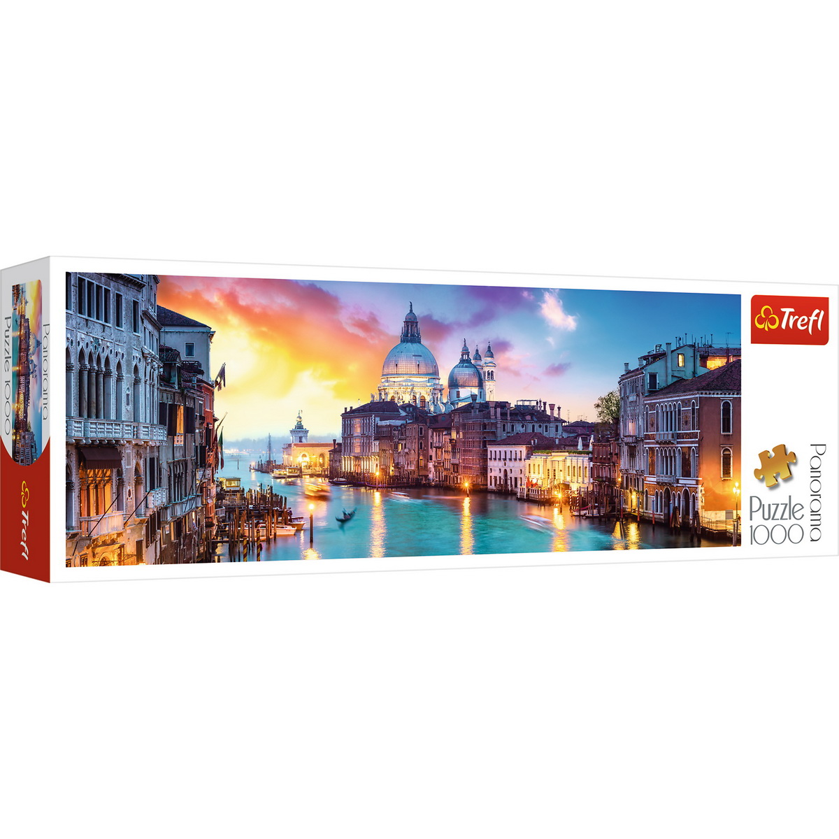 Puzzle Trefl 1000 Panorama Canal Grande Venetia